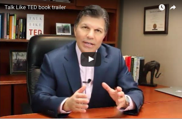 Talk Like TED Book Trailer