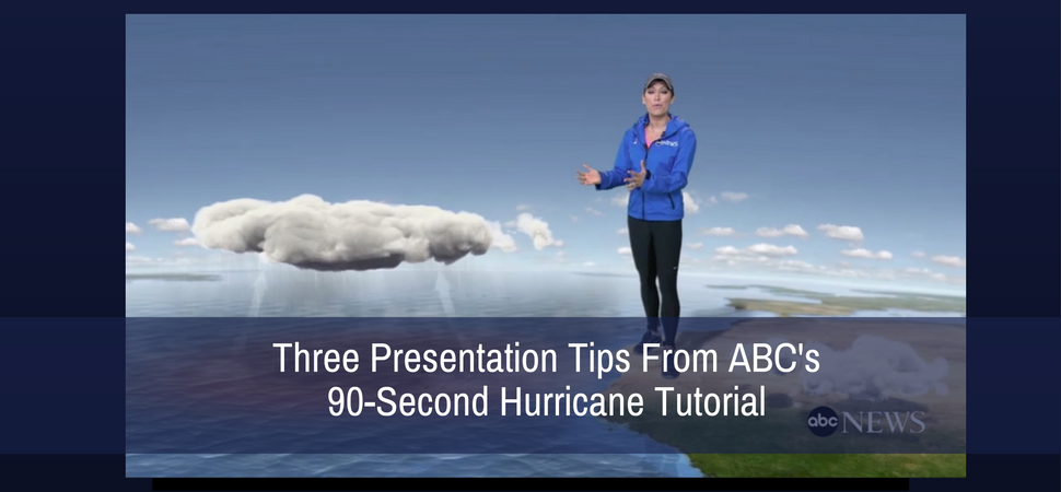 Three Presentation Tips From ABC's 90-Second Hurricane Tutorial