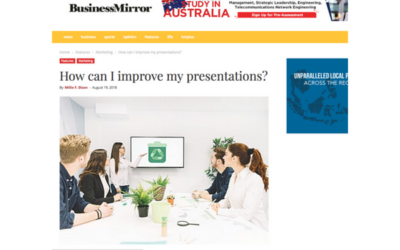 BUSINESS MIRROR FEATURES CARMINE GALLO'S INSIGHTS