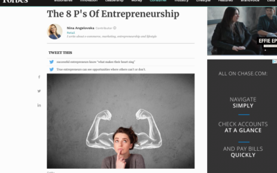 Talk Like TED featured in a Forbes article about entrepreneurship