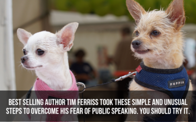 Best Selling Author Tim Ferriss Took These Simple and Unusual Steps To Overcome His Fear of Public Speaking. You Should Try It.
