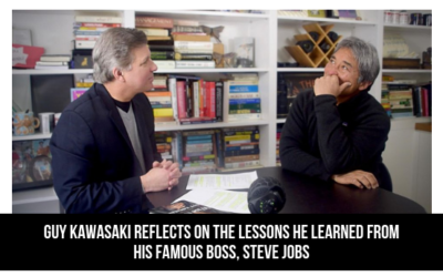 Guy Kawasaki Reflects On The Lessons He Learned From His Famous Boss, Steve Jobs