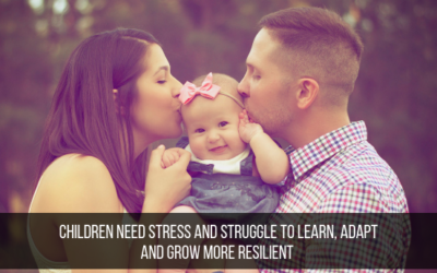 Children Need Stress And Struggle To Learn, Adapt And Grow More Resilient