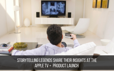 Storytelling Legends Share Their Insights At The Apple TV + Launch