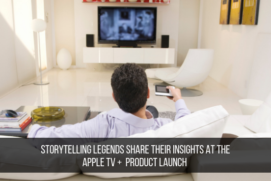 Storytelling Legends Share Their Insights At The Apple TV +