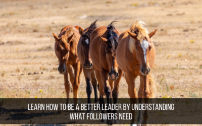 Learn How To Be A Better Leader By Understanding What Followers Need