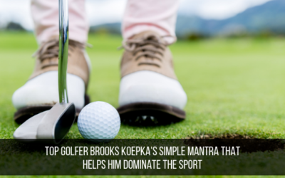 Top Golfer Brooks Koepka's Simple Mantra That Helps Him Dominate The Sport