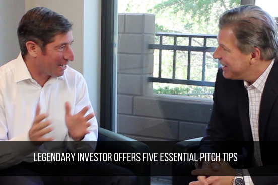 Legendary Investor Offers Five Essential Pitch Tips
