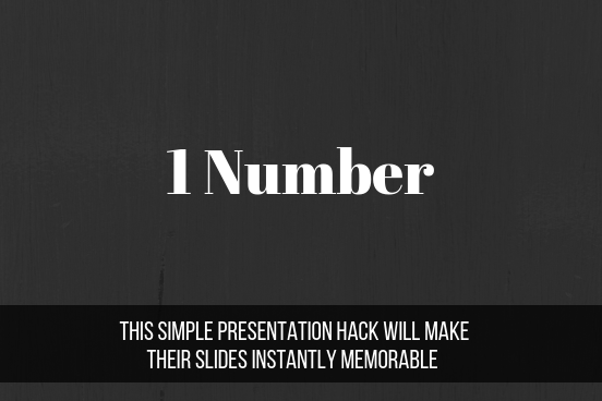 This Simple Presentation Hack Will Make Their Slides Instantly Memorable