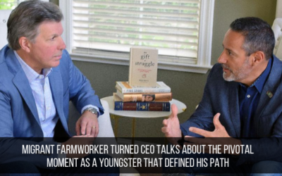 Migrant Farmworker Turned CEO Talks About The Pivotal Moment As A Youngster That Defined His Path