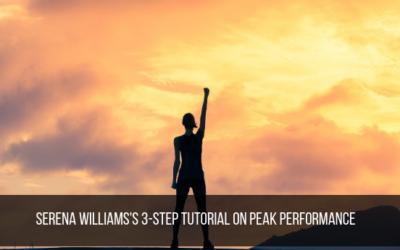 Serena Williams's 3-Step Tutorial On Peak Performance